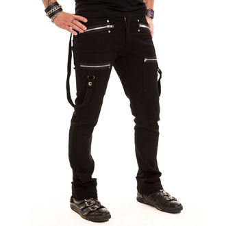 kalhoty pánské VIXXSIN - Barrier - Black - POI028