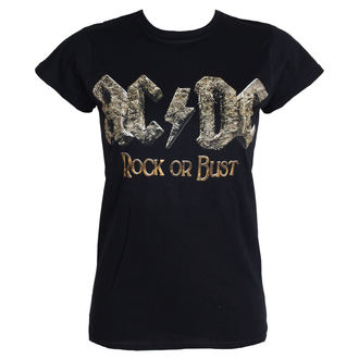 tričko dámské AC/DC - Rock Or Bust - PLASTIC HEAD - PH9293G