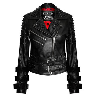 bunda dámská (křivák) KILLSTAR - Buckled Leather, KILLSTAR