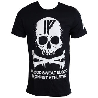 tričko pánské IRON FIST - Driip Skull - Black - IF103173