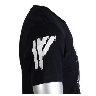 tričko pánské IRON FIST - Driip Skull - Black, IRON FIST