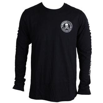 tričko pánské s dlouhým rukávem IRON FIST - Crossbones - Black, IRON FIST