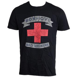 tričko pánské Bon Jovi - Bad Medicine - LIVE NATION - PE12128TSBP