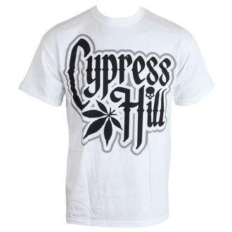 tričko pánské Cypress Hill - Logo - WHT - PECPH0010