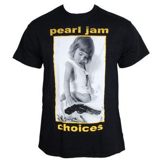 tričko pánské Pearl Jam - Choices - BLK, NNM, Pearl Jam