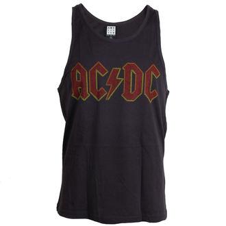 tílko pánské AC/DC - Logo - Charcoal - AMPLIFIED, AMPLIFIED, AC-DC