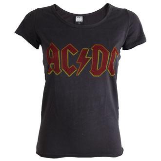 tričko dámské AC/DC -Logo - Charcoal - AMPLIFIED, AMPLIFIED, AC-DC
