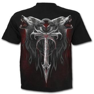 tričko pánské SPIRAL - Legend Of The Wolves - D063M101