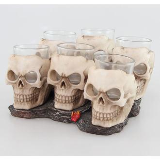 panáky (sada) Skulls - 816-4534, U1646E5