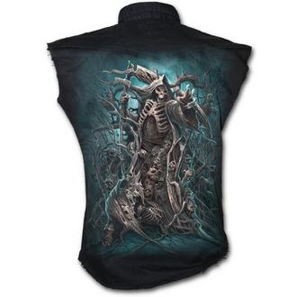 košile pánská bez rukávů SPIRAL - Forest Reaper - K031M602