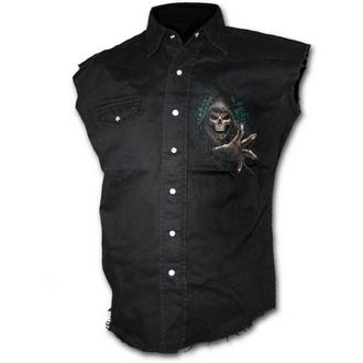 košile pánská bez rukávů SPIRAL - Forest Reaper