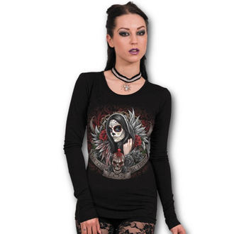 tričko dámské s dlouhým rukávem SPIRAL - Muertos Dias