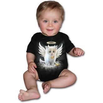 body dětské SPIRAL- Kitty Angel - Black, SPIRAL