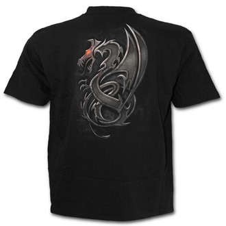 tričko pánské SPIRAL - Dragon Slayer - Black - M017M101