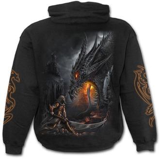 mikina pánská SPIRAL - Dragon Slayer - Black - M017M451