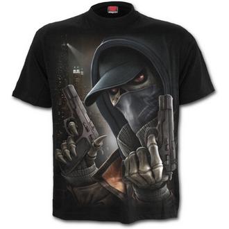 tričko pánské SPIRAL - Street Reaper - Black - M019M101