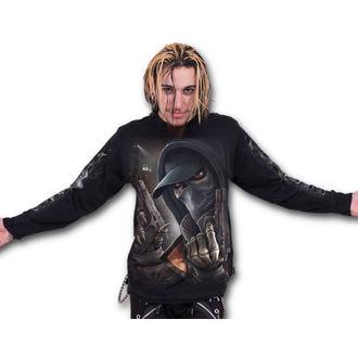 tričko pánské s dlouhým rukávem SPIRAL - Street Reaper - Balck