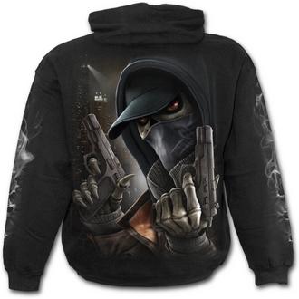 mikina pánská SPIRAL - Street Reaper - Black - M019M451