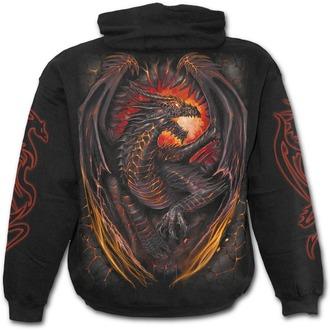 mikina pánská SPIRAL - Dragon Furnace - Black - L016M451