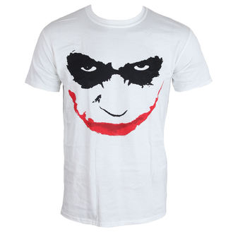 tričko pánské Batman - The Dark Knight - Joker Smile - White - LIVE NATION, LIVE NATION, Batman