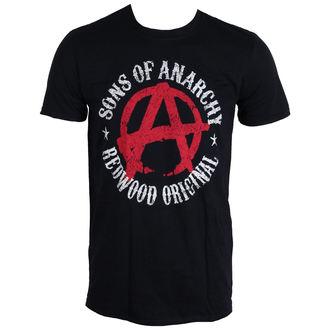 tričko pánské Sons Of Anarchy - Symbol - Black - LIVE NATION