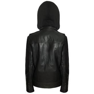 bunda pánská (křivák) KILLSTAR - Moody - Vegan - Black - KIL338