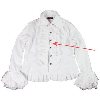 košile dámská ADERLASS - White - POŠKOZENÁ, ADERLASS