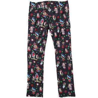 kalhoty dámské HELL BUNNY - Black, HELL BUNNY