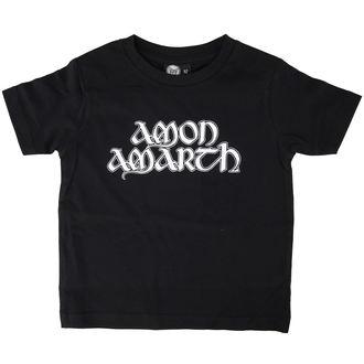 tričko dětské Amon Amarth - Logo - Black - Metal-Kids