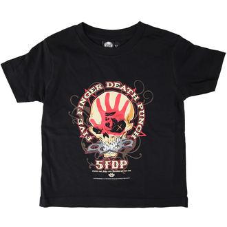 tričko dětské Five Finger Death Punch - Knucklehead - Black - Metal-Kids - MK50