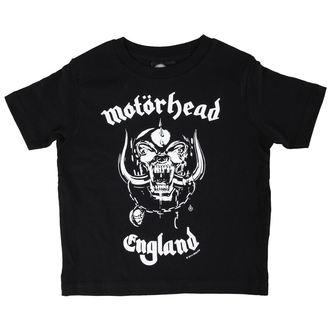 tričko dětské Motörhead - England - Black - Metal-Kids, Metal-Kids, Motörhead