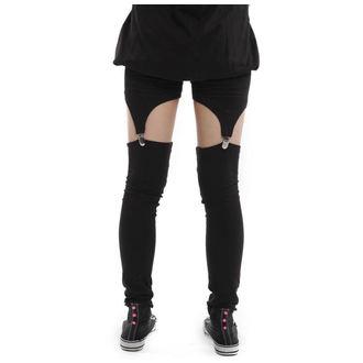 kalhoty dámské (legíny) VIXXSIN - Suspender - Black - POI078