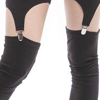 kalhoty dámské (legíny) VIXXSIN - Suspender - Black