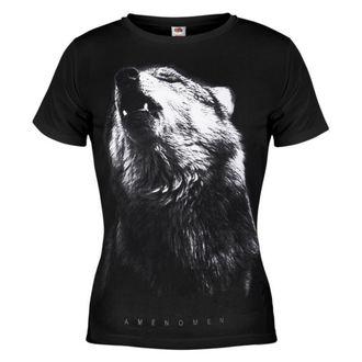 tričko dámské AMENOMEN - Wolf - BLK