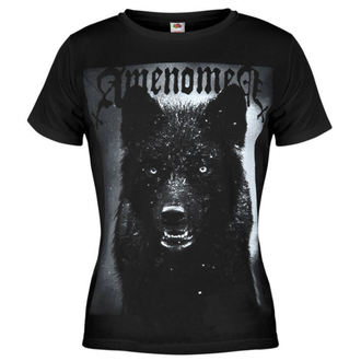 tričko dámské AMENOMEN - Black Wolf - BLK - OMEN024DA