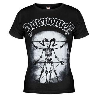 tričko dámské AMENOMEN - Skeleton Da Vici - BLK - OMEN020DA