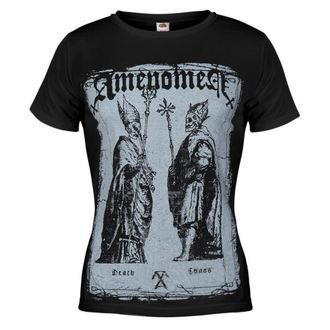 tričko dámské AMENOMEN - Two Popes - BLK - DOMEN017