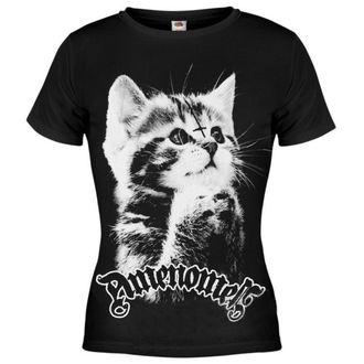 tričko dámské AMENOMEN - Pure Evil - BLK - OMEN004DA