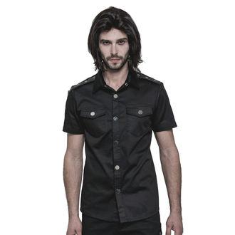 košile pánská PUNK RAVE - Casual - OY-860 BK