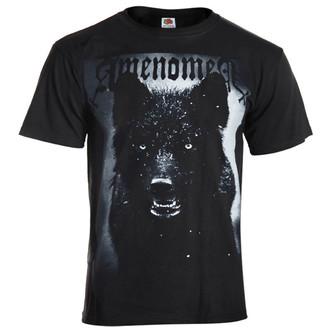 tričko pánské AMENOMEN - Black Wolf - BLK - OMEN024KM