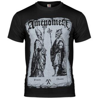 tričko pánské AMENOMEN - Two Popes - BLK - OMEN017KM