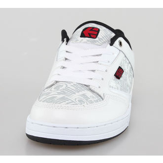 boty pánské ETNIES - Metal Mulisha - Cartel - White/Black/Red, METAL MULISHA