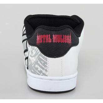 boty pánské ETNIES - Metal Mulisha - Fader - White/Black/Red - 4107000233/114