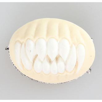 Brož RESTYLE - TEETH - white - N114