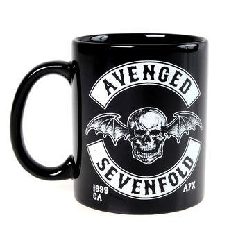 hrnek Avenged Sevenfold - Deathbat Crest - ROCK OFF, ROCK OFF, Avenged Sevenfold