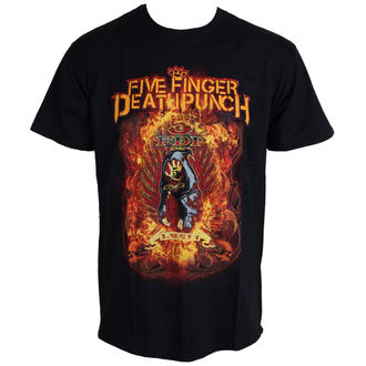tričko pánské Five Finger Death Punch - Burn In Sin - ROCK OFF, ROCK OFF, Five Finger Death Punch