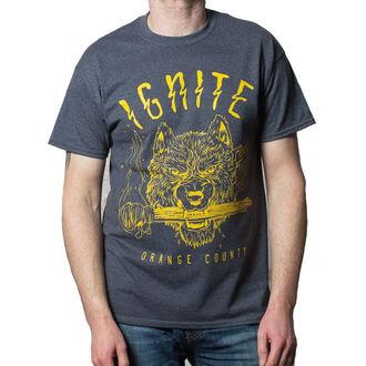 tričko pánské Ignite - Wolf - BUCKANEER - Dark Heather, Buckaneer, Ignite