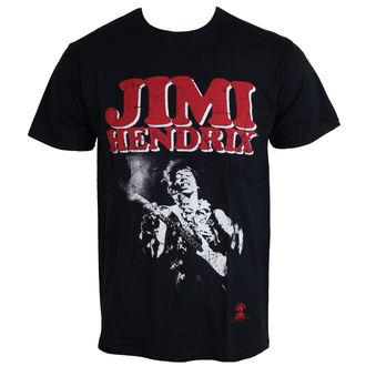 tričko pánské Jimi Hendrix - Block Logo - ROCK OFF, ROCK OFF, Jimi Hendrix