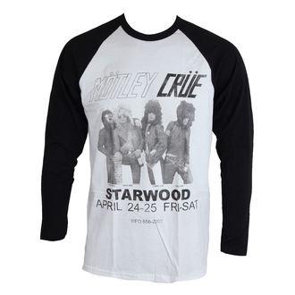tričko pánské s dlouhým rukávem  Mötley Crüe - Starwood Flyer 1981 - ROCK OFF, ROCK OFF, Mötley Crüe