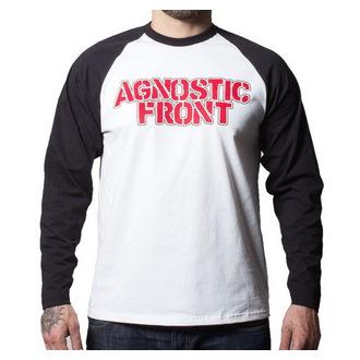 tričko pánské s dlouhým rukávem Agnostic Front - Never Walk Alone - BUCKANEER - Black/White, Buckaneer, Agnostic Front